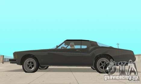 Buick Riviera 1973 для GTA San Andreas вид сзади слева