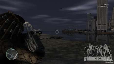 Хищник Predator для GTA 4 третий скриншот