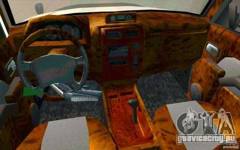 Toyota Land Cruiser Prado для GTA San Andreas вид сверху
