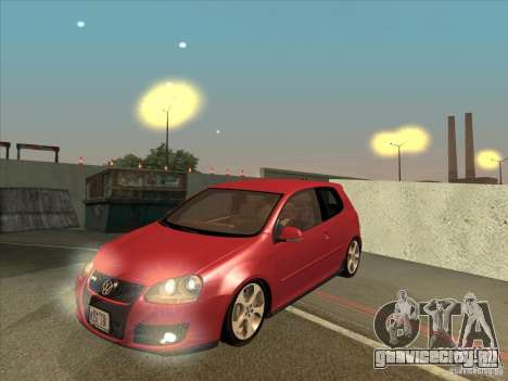 VW Golf Mk5 GTi - Stock: Tunable для GTA San Andreas