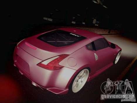 Nissan 370Z Fatlace для GTA San Andreas вид сбоку