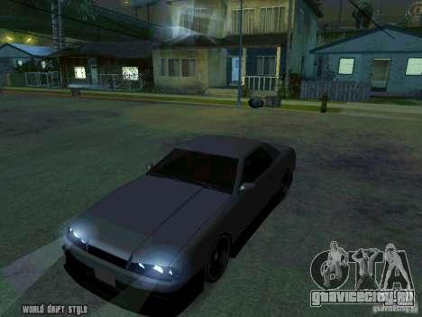 ELEGY BY CREDDY для GTA San Andreas вид справа