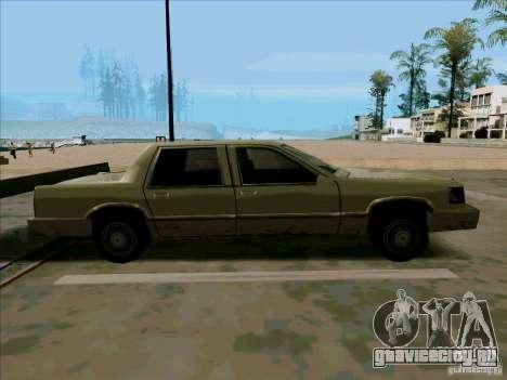 Короткий Лимузин для GTA San Andreas вид сзади