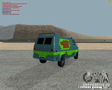 GMC Van 1983 для GTA San Andreas вид справа