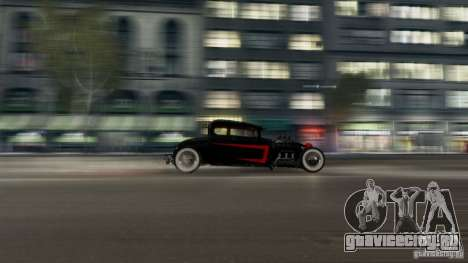 Smith 34 Hot Rod для GTA 4 вид справа