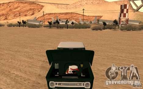 Chevrolet C-10 Fixxa для GTA San Andreas вид сзади слева