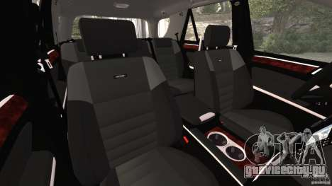 Mercedes-Benz ML63 AMG Brabus для GTA 4 вид изнутри