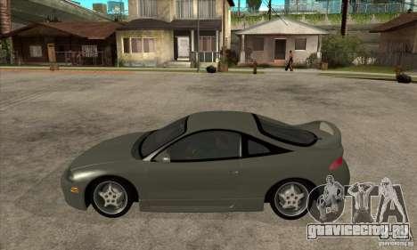 Mitsubishi Eclipse GSX - Stock для GTA San Andreas вид слева
