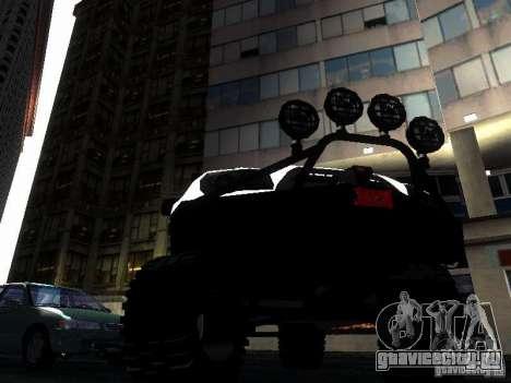 Toyota 4Runner 4X4 для GTA San Andreas вид изнутри