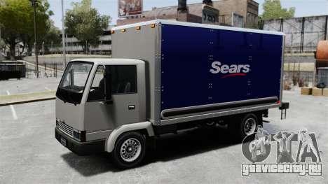 Новая реклама для грузовика Mule для GTA 4 вид сзади слева