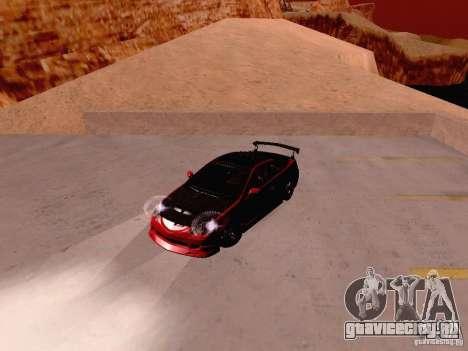 Acura RSX Drift для GTA San Andreas вид сзади
