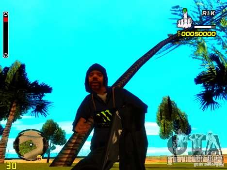 Hud от R1k. для GTA San Andreas