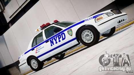 Ford Crown Victoria NYPD для GTA 4 вид слева