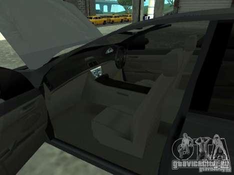 Holden Calais для GTA San Andreas вид сзади слева