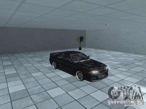 Nissan Skyline R32 Tuned для GTA San Andreas вид изнутри