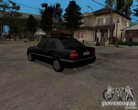 Mercedes-Benz C220 W202 1996 для GTA San Andreas вид справа