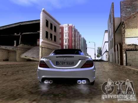 Mercedes-Benz SLK55 AMG 2012 для GTA San Andreas вид сбоку