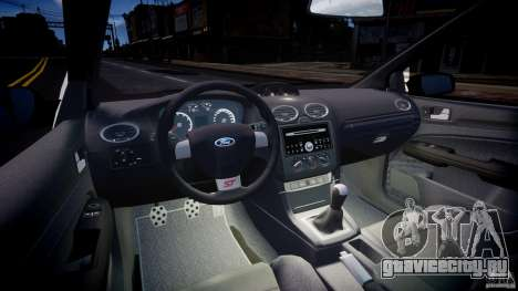 Ford Focus ST MkII 2005 для GTA 4 вид сзади