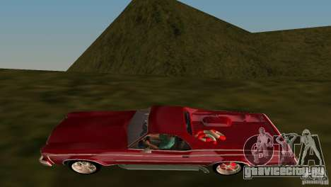 Chevrolet El Camino Idaho для GTA Vice City вид изнутри
