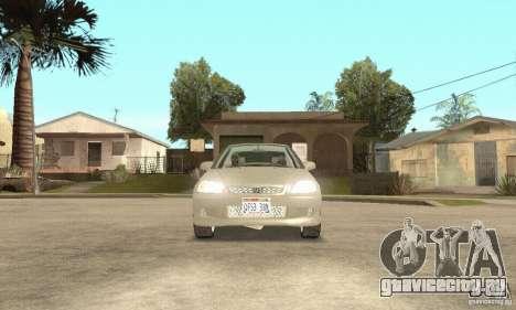 Honda Civic 1998 для GTA San Andreas вид изнутри
