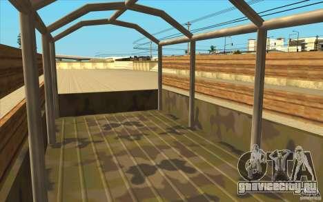 IFA 6x6 Army Truck для GTA San Andreas вид сзади
