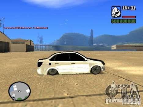 ВАЗ 2190 Гранта JDM style для GTA San Andreas вид слева