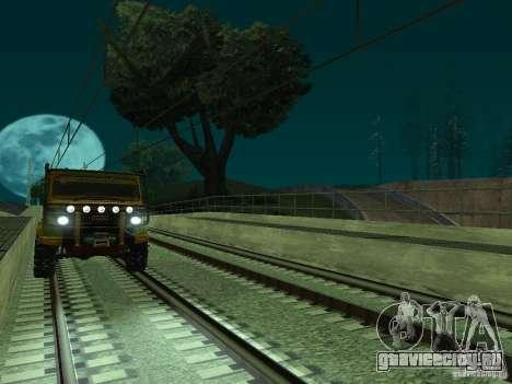 Высокоскоростная ЖД линия для GTA San Andreas восьмой скриншот