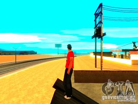 Скин репортера для GTA San Andreas третий скриншот