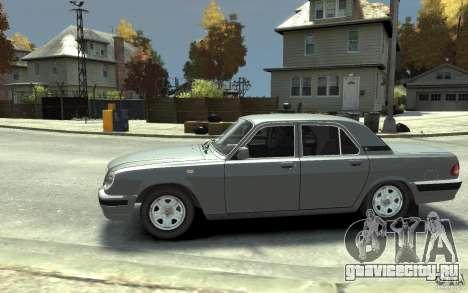 ГАЗ Волга 31105 для GTA 4 вид слева