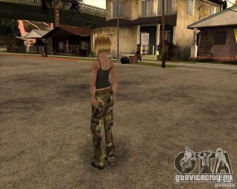 Новая gangrl3 для GTA San Andreas второй скриншот