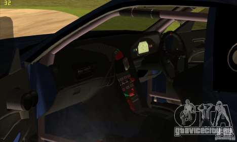 Nissan Skyline R34 GT-R LM для GTA San Andreas двигатель