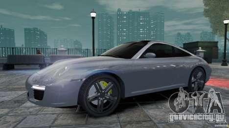Porsche Targa 4S 2009 для GTA 4