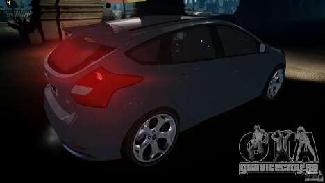 Ford Focus 3 ST для GTA 4 вид справа