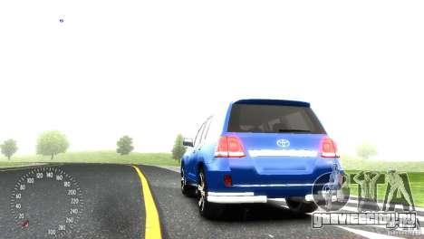 Toyota Land Cruiser 200 RESTALE для GTA 4 вид справа