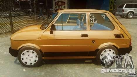 Fiat 126p FL Polski 1994 Wheels 2 для GTA 4 вид слева