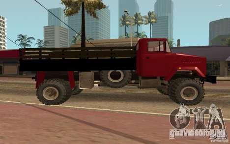 КрАЗ 5131 для GTA San Andreas вид слева