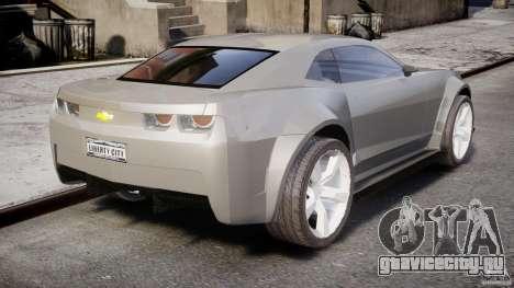 Chevrolet Camaro 2009 для GTA 4 вид изнутри