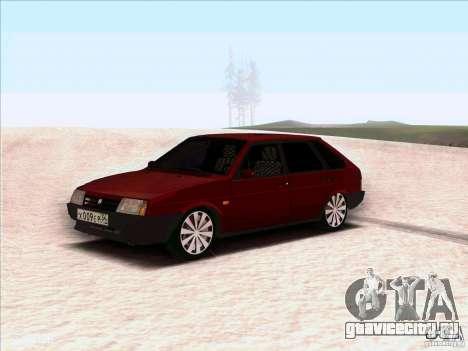 ВАЗ 2109 Зимняя для GTA San Andreas