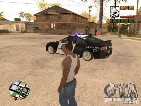 Call the Police для GTA San Andreas четвёртый скриншот