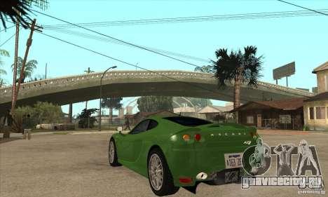 Ascari KZ1 для GTA San Andreas вид сзади слева