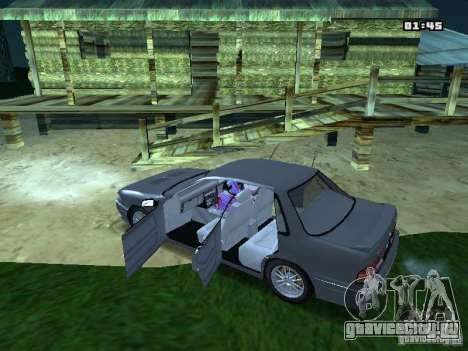 Mitsubishi Galant VR-4 1989 для GTA San Andreas вид слева