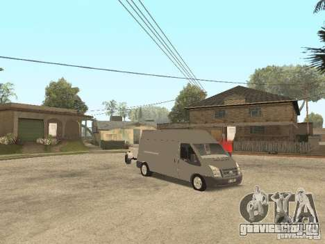 Ford Transit 2007 для GTA San Andreas вид слева