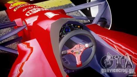 Ferrari Formula 1 для GTA 4 вид справа