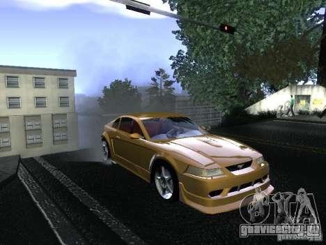Ford Mustang SVT Cobra для GTA San Andreas вид справа
