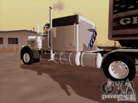 Peterbilt 377 для GTA San Andreas вид справа