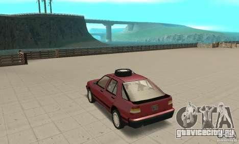Saab 9000 для GTA San Andreas вид сзади слева