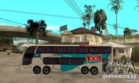 Marcopolo Paradiso 1800 G6 8x2 для GTA San Andreas вид слева