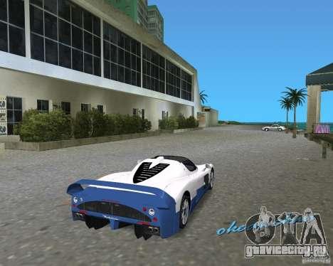 Maserati MC12 для GTA Vice City вид сзади слева