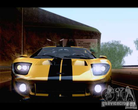 SA_NGGE ENBSeries для GTA San Andreas второй скриншот
