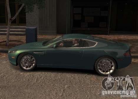 Aston Martin DB9 2008 v 1.0 для GTA 4 двигатель